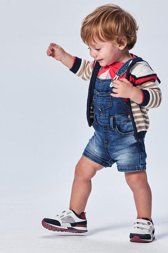 červenofialový Mayoral - Detské nohavice na traky Chlapčenský