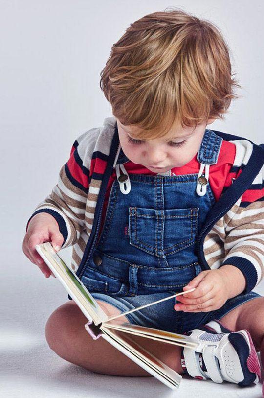 Mayoral - Detské nohavice na traky červenofialový