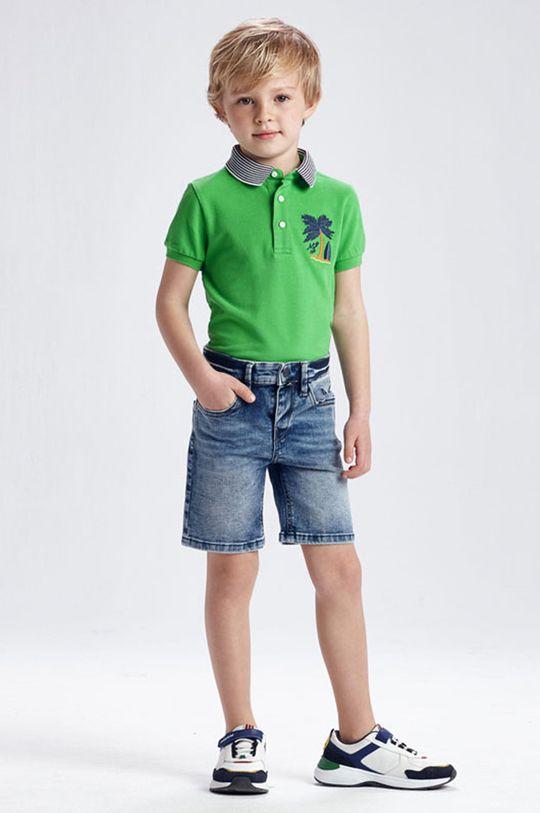 červenofialový Mayoral - Detské krátke nohavice Chlapčenský