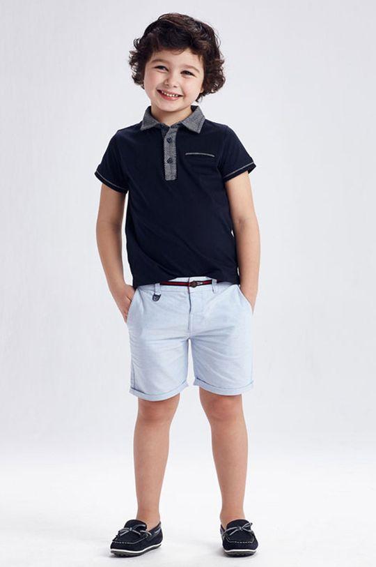 bledomodrá Mayoral - Detské krátke nohavice Chlapčenský
