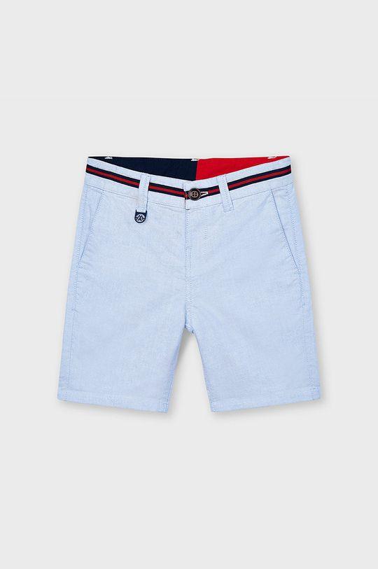 Mayoral - Detské krátke nohavice bledomodrá