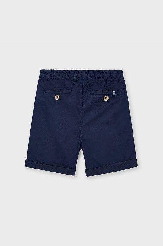 Mayoral - Detské krátke nohavice tmavomodrá