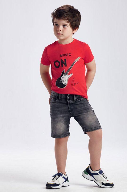 sivá Mayoral - Detské krátke nohavice Chlapčenský