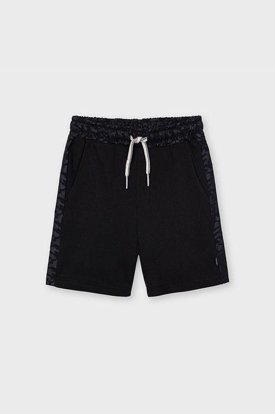 čierna Mayoral - Detské krátke nohavice Chlapčenský