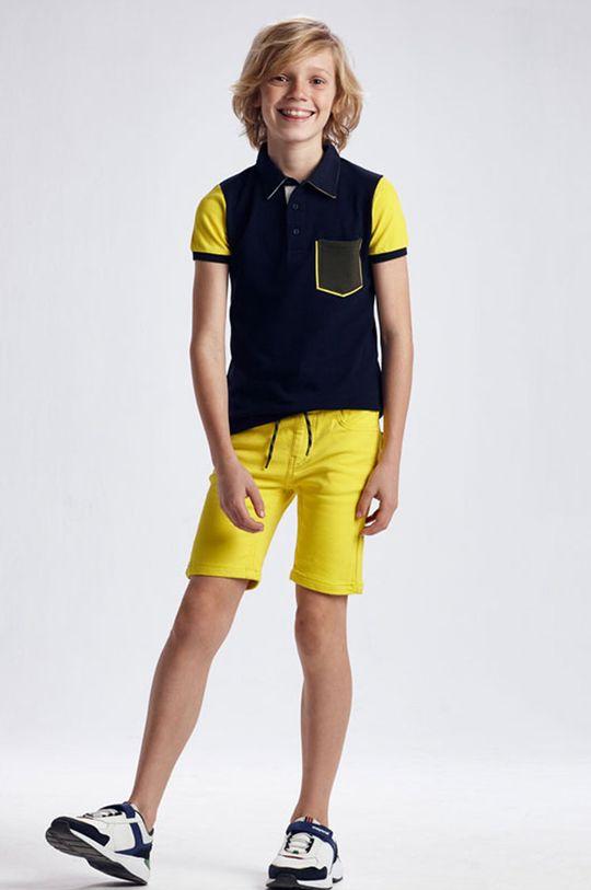 žltá Mayoral - Detské krátke nohavice Chlapčenský