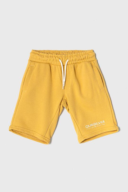 żółty Quiksilver - Szorty dziecięce 128-172 cm Chłopięcy