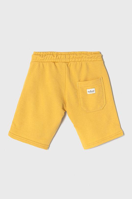 Quiksilver - Szorty dziecięce 128-172 cm żółty