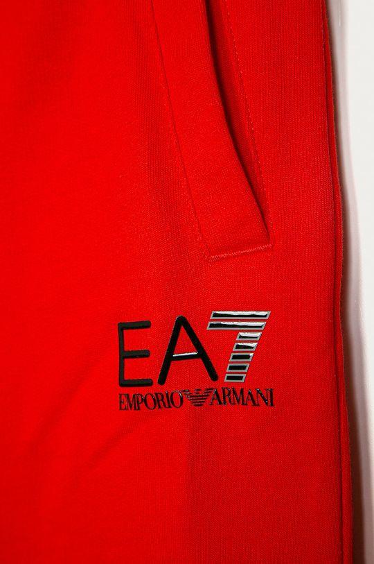 EA7 Emporio Armani - Dětské kraťasy 104-164 cm červená