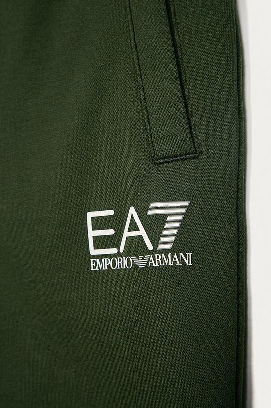 EA7 Emporio Armani - Szorty dziecięce 104-164 cm brązowa zieleń