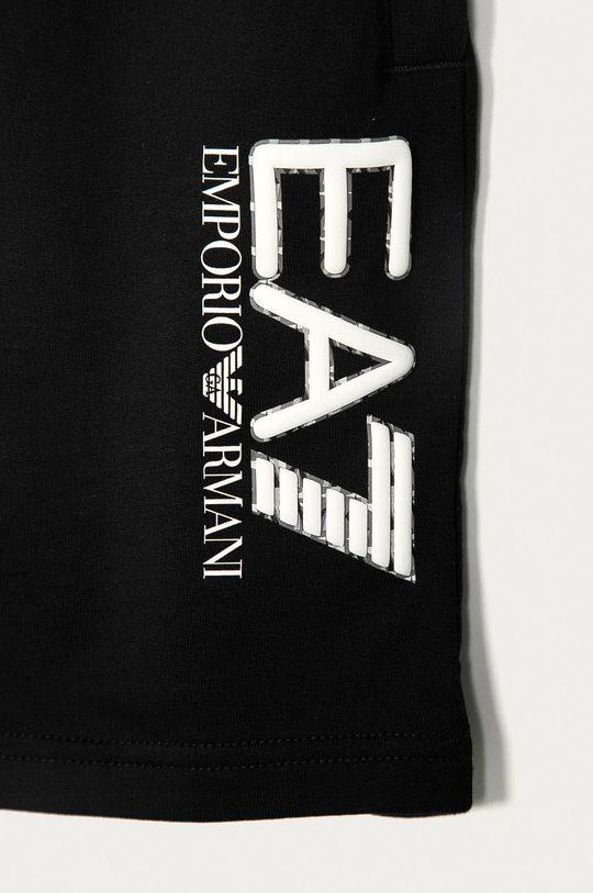 EA7 Emporio Armani - Dětské kraťasy 104-134 cm černá
