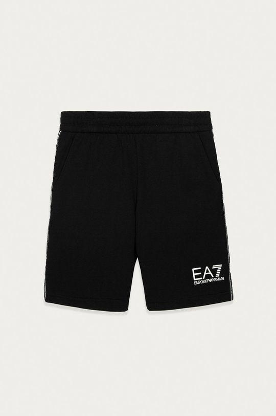 čierna EA7 Emporio Armani - Detské krátke nohavice 116 cm Chlapčenský