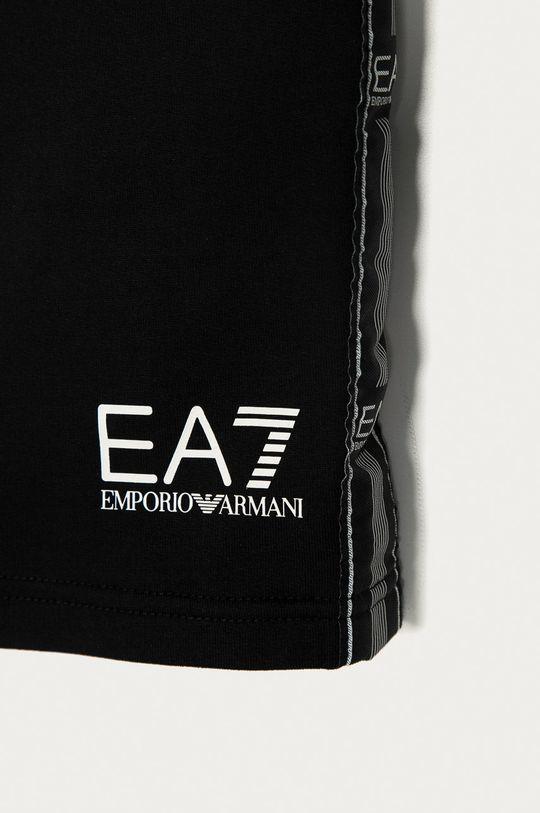EA7 Emporio Armani - Detské krátke nohavice 116 cm čierna