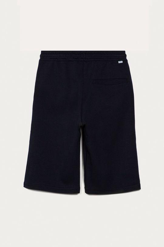 Boss - Detské krátke nohavice tmavomodrá
