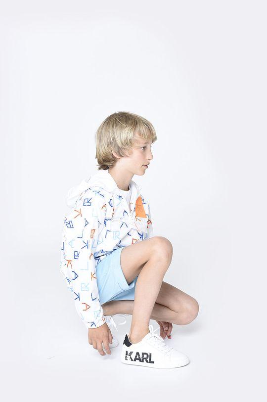 jasny niebieski Karl Lagerfeld - Szorty dziecięce Chłopięcy