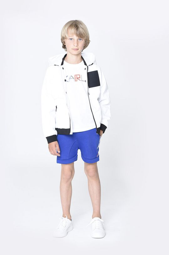 fialová Karl Lagerfeld - Dětské kraťasy Chlapecký