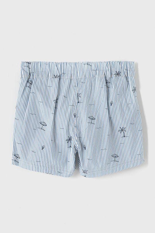 Name it - Dětské plavkové šortky 110-152 cm bílá