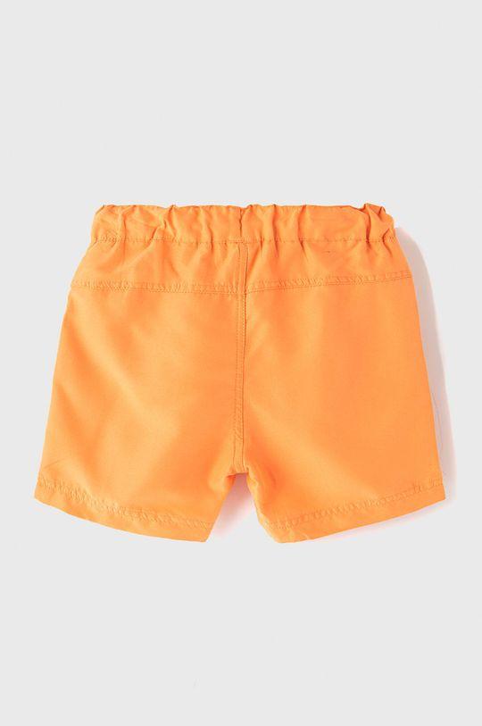Name it - Dětské plavkové šortky 128-164 cm oranžová