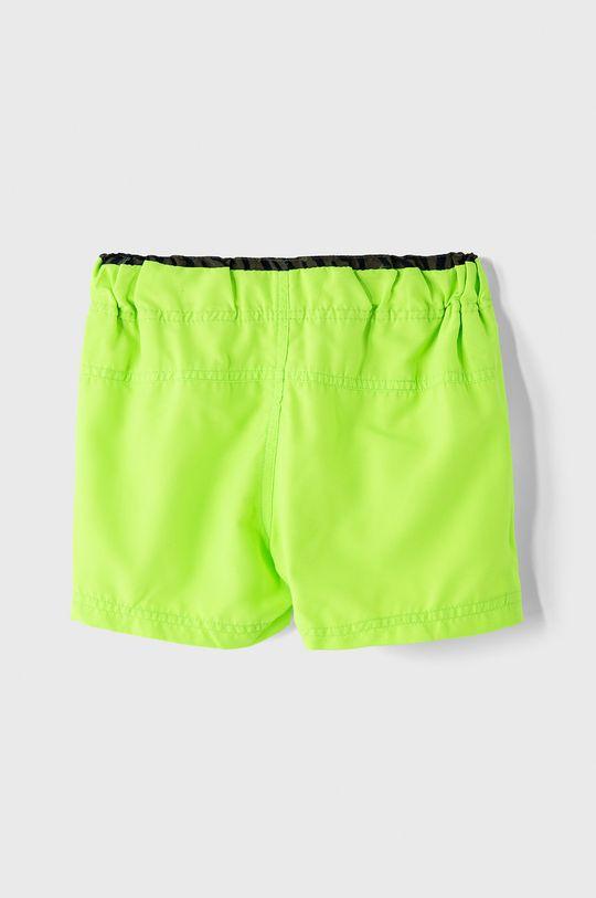 Name it - Dětské plavkové šortky 110-152 cm zelená