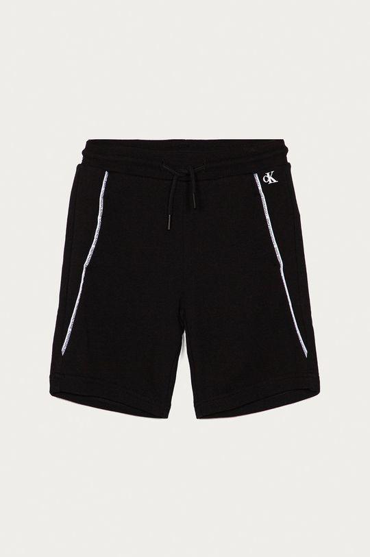 czarny Calvin Klein Jeans - Szorty dziecięce 104-176 cm Chłopięcy