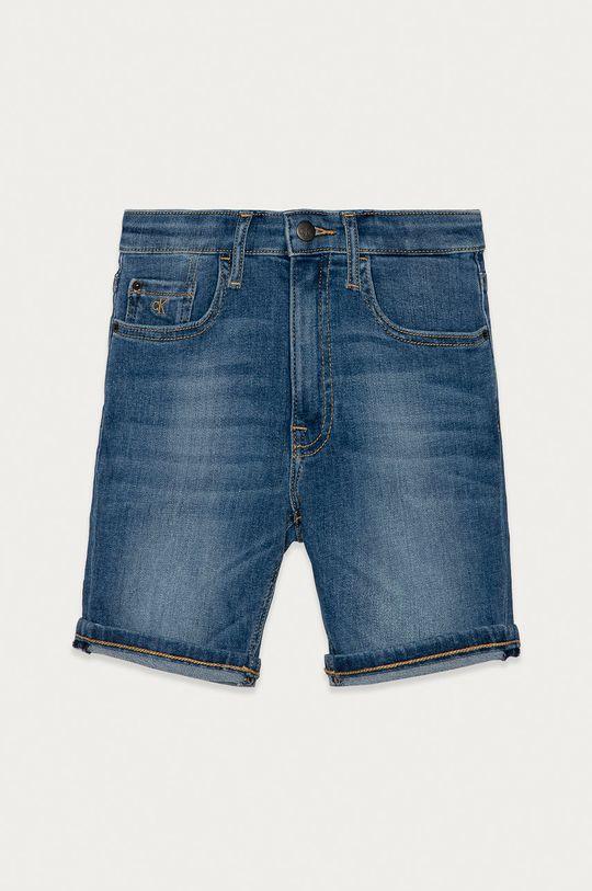 albastru Calvin Klein Jeans - Pantaloni scurti din denim pentru copii 128-176 cm De băieți