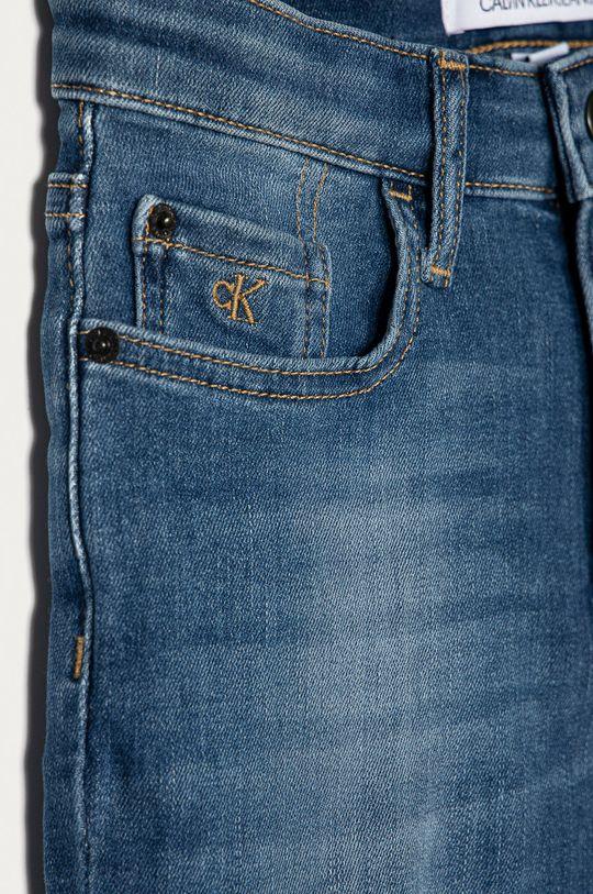 Calvin Klein Jeans - Pantaloni scurti din denim pentru copii 128-176 cm albastru