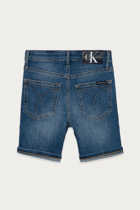 Calvin Klein Jeans - Pantaloni scurti din denim pentru copii 128-176 cm  78% Bumbac, 1% Elastan, 21% Poliester