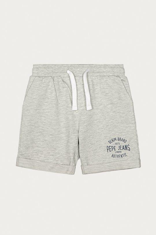 szary Pepe Jeans - Szorty dziecięce Charlie 128-178 cm Chłopięcy