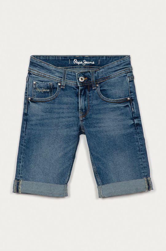 modrá Pepe Jeans - Dětské riflové kraťasy Becket 128-180 cm Chlapecký