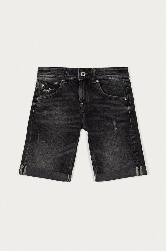 grafitowy Pepe Jeans - Szorty jeansowe dziecięce Becket Short 128-180 cm Chłopięcy