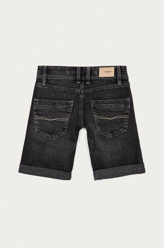 Pepe Jeans - Szorty jeansowe dziecięce Becket Short 128-180 cm grafitowy