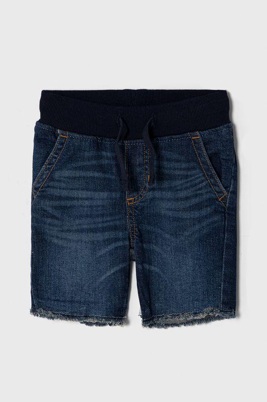 granatowy GAP - Szorty jeansowe dziecięce 74-110 cm Chłopięcy