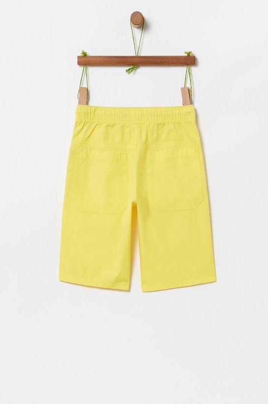 OVS - Dětské kraťasy jasně žlutá