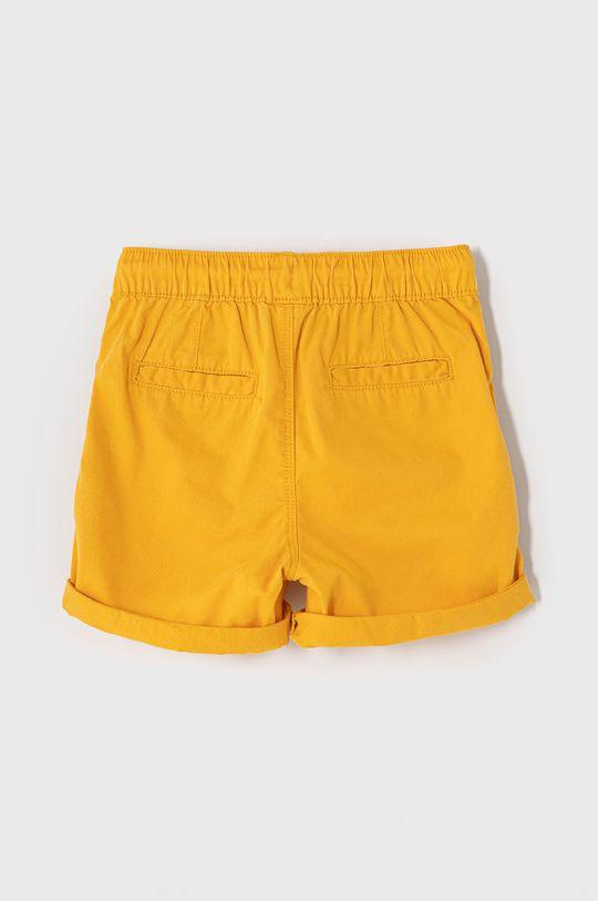 OVS - Detské krátke nohavice 80-98 cm svetlo oranžová