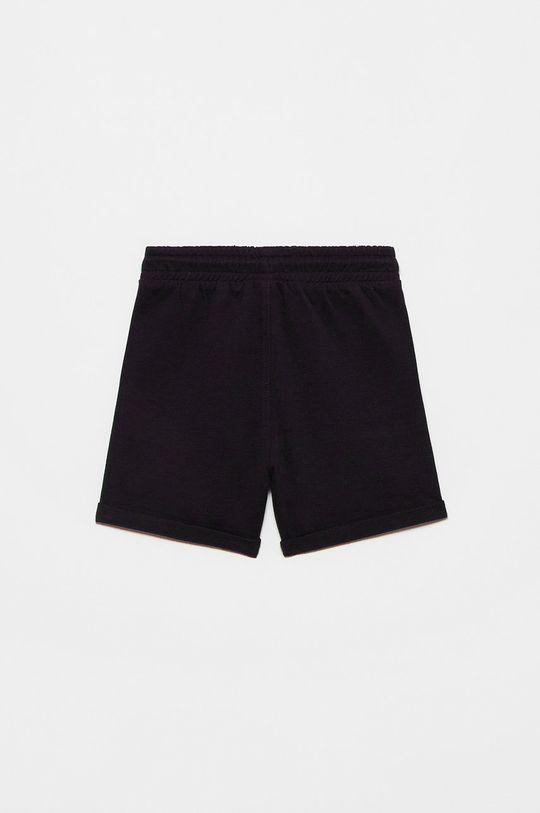 OVS - Detské krátke nohavice čierna