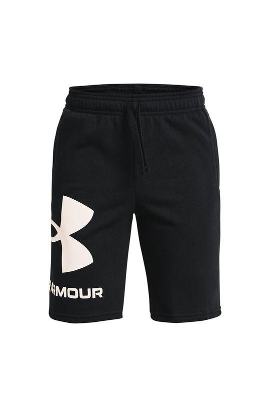čierna Under Armour - Detské krátke nohavice 122-170 cm Chlapčenský