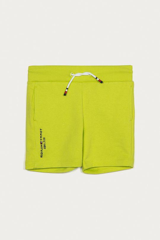 galben – verde Tommy Hilfiger - Pantaloni scurti copii 86-176 cm De băieți