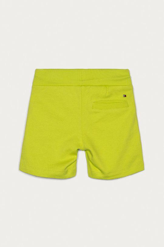 Tommy Hilfiger - Pantaloni scurti copii 86-176 cm galben – verde