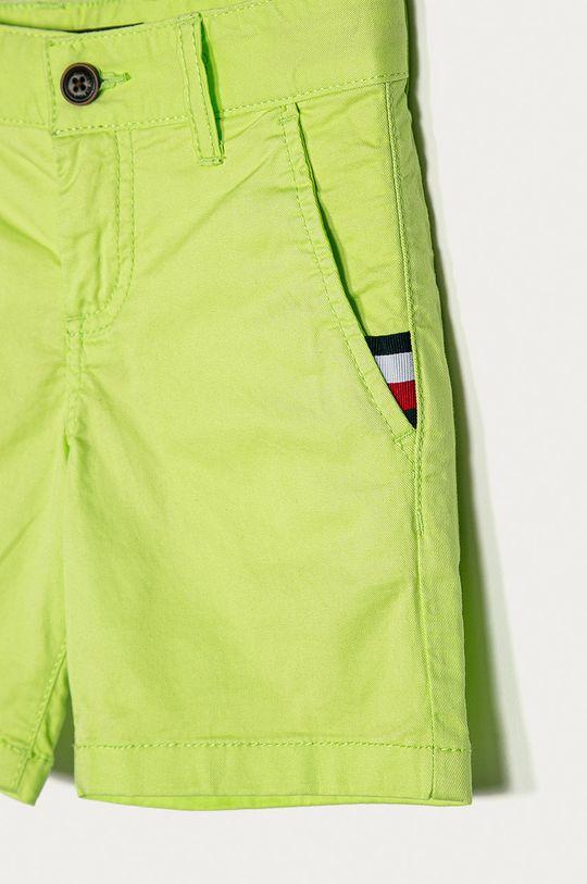 Tommy Hilfiger - Szorty dziecięce 92-176 cm żółto - zielony
