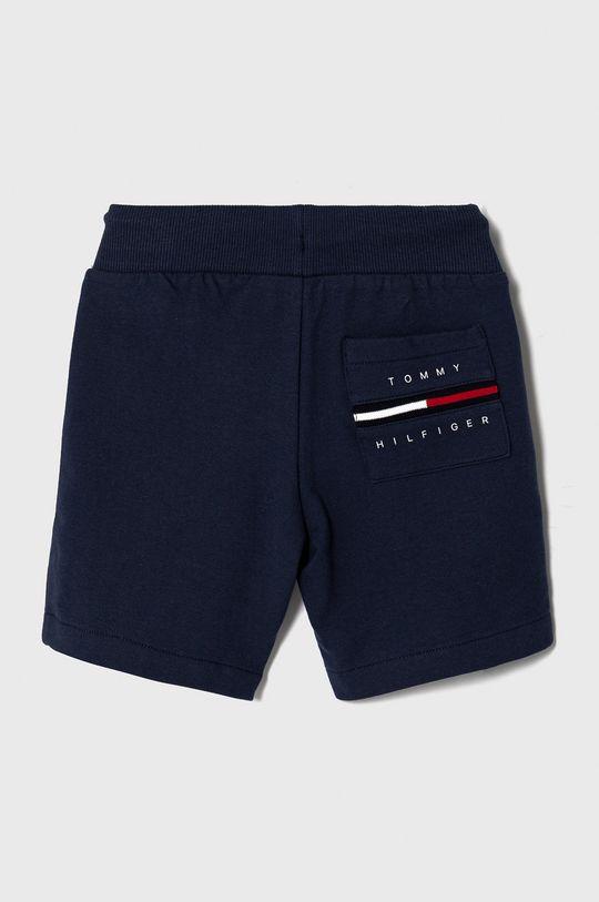 Tommy Hilfiger - Detské krátke nohavice 98-176 cm tmavomodrá