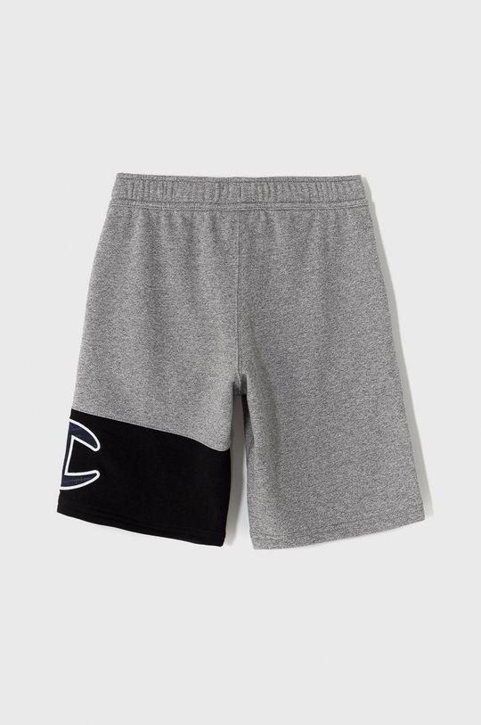 Champion - Detské krátke nohavice 102-179 cm sivá