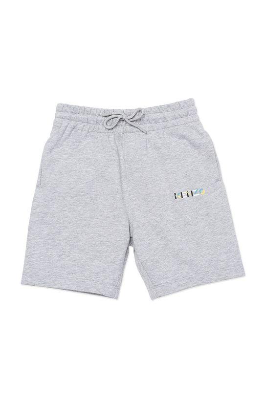 svetlosivá KENZO KIDS - Detské krátke nohavice Chlapčenský