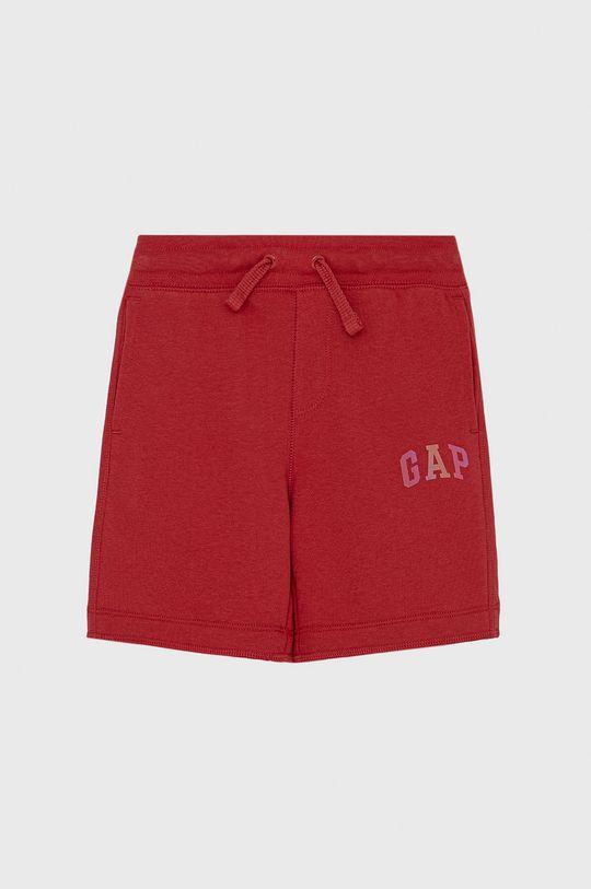 ostrá červená GAP - Dětské kraťasy Chlapecký
