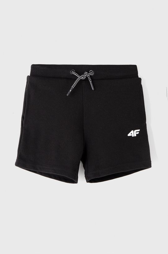čierna 4F - Detské krátke nohavice 122-164 cm Chlapčenský