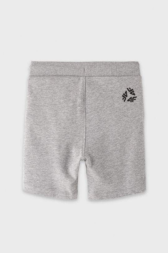 4F - Detské krátke nohavice 122-164 cm  78% Bavlna, 12% Polyester, 10% Viskóza