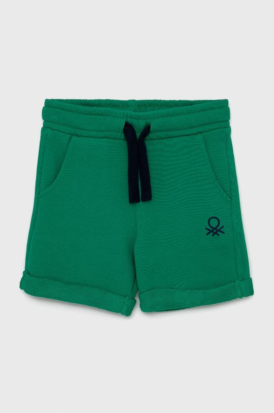 zelená United Colors of Benetton - Dětské kraťasy Chlapecký