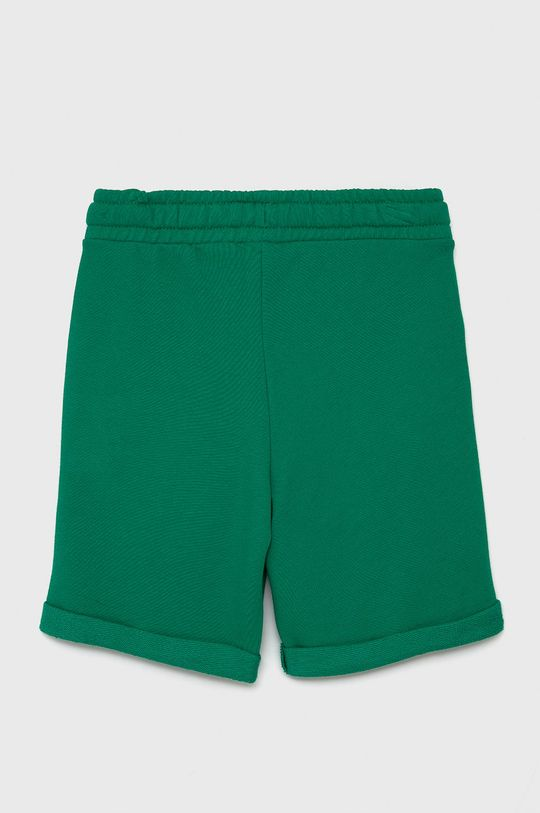 United Colors of Benetton - Dětské kraťasy zelená