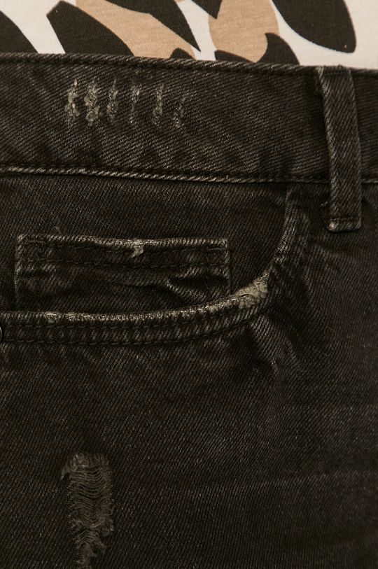 grafitová Noisy May - Džínové šortky