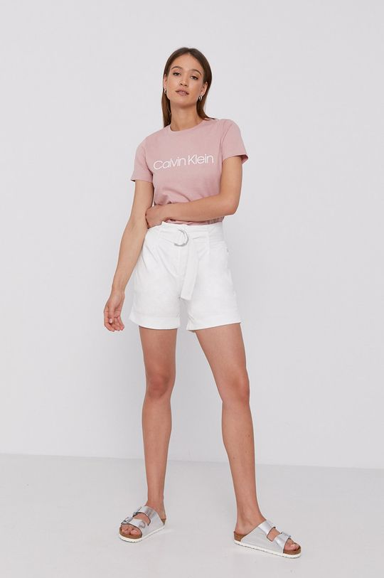 Calvin Klein - Szorty biały