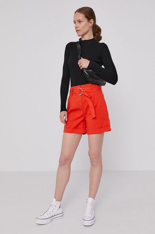 Calvin Klein - Kraťasy oranžová
