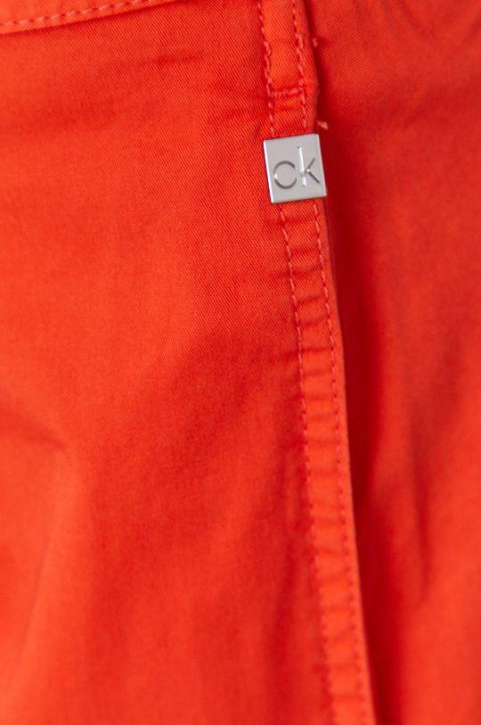 oranžová Calvin Klein - Kraťasy